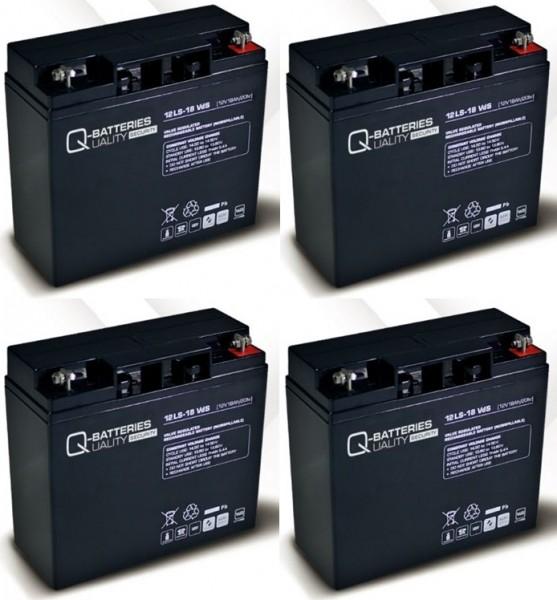 Ersatzakku für APC Smart-UPS DLA2200I RBC55 RBC 55 / Markenakku mit VdS