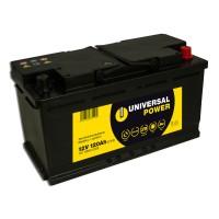 Universal Power Semitraktion UPA12-120 12V 120Ah (C100) Solar Batterie Wohnmobilbatterie zyklenfest