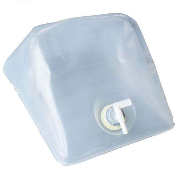 Faltkanister Fallwasserbehälter mit 25l entmineralisiertem Wasser im Karton
