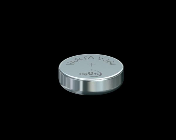 Varta Watch V364 SR60 1,55 V Uhrenbatterie 17mAh (1er Blister)
