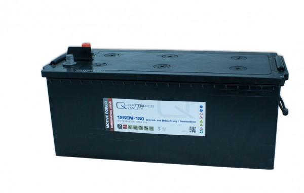 Q-Batteries 12SEM-180 12V 180Ah Semitraktionsbatterie