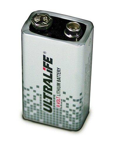 Ultralife U9VL-J-P - 9V Block Power Cell Lithium Batterie 9V 1200mAh UN3090 - SV188