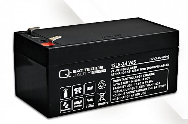 Ersatzakku für APC Back-UPS ES BE325-GR RBC47 RBC 47 / Markenakku mit VdS