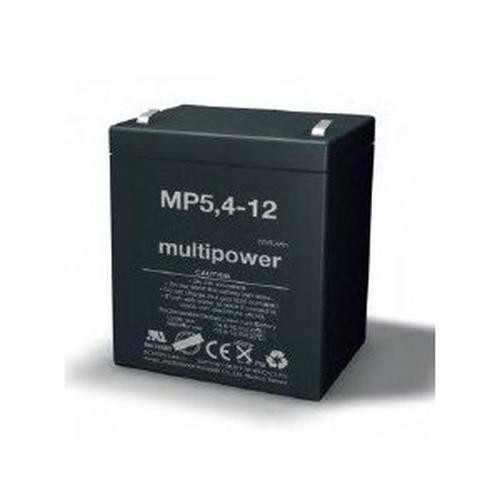 Multipower MP5,4-12 / 12V 5,4Ah Blei Akku AGM