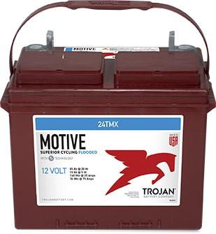 Trojan 24TMX 12V 85Ah Deep Cycle Traktionsbatterie UT-Anschluss