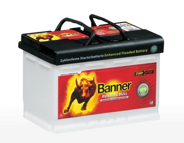 Banner EFB57011 Start-Stop Running Bull 12V 70Ah 660A Autobatterie