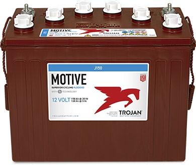 Trojan J150 12V 150Ah Deep Cycle Traktionsbatterie ELPT-Anschluss