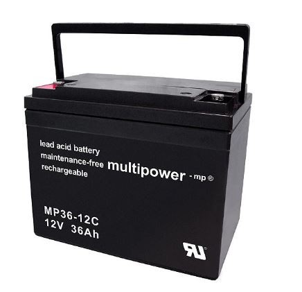 Multipower MP36-12C / 12V 36Ah Blei Akku AGM Zyklentyp