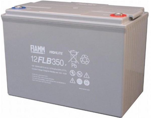 Fiamm HighLite 12FLB350P 12V 95Ah AGM Blei-Vlies 10-12 Jahres-Batterie