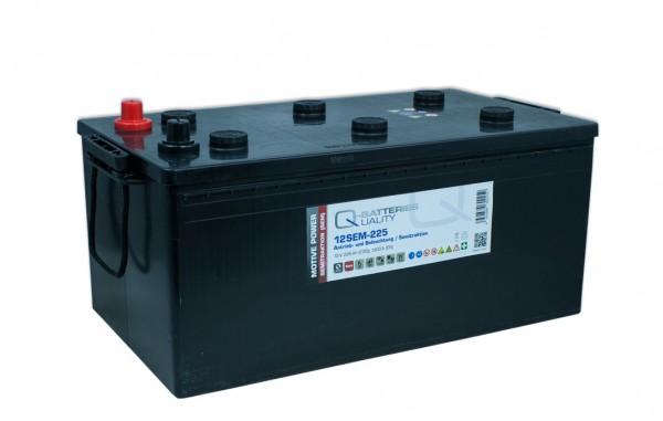 Q-Batteries 12SEM-225 12V 225Ah Semitraktionsbatterie