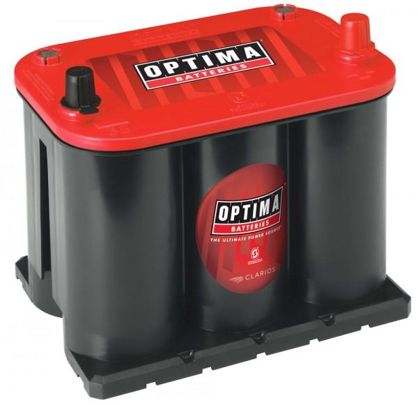 Optima Red Top RT R - 3.7, 12V 44Ah, AGM Starterbatterie, Spiralcell Technologie