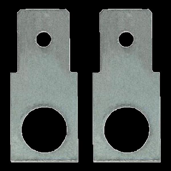 Adapter M5 auf Faston F2 Flachstecker 6,3mm gerade (1 Paar)
