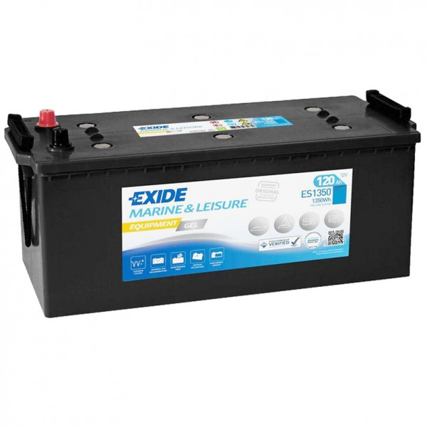 Exide ES1350 Equipment Gel 12V 120Ah G120 Versorgungsbatterie