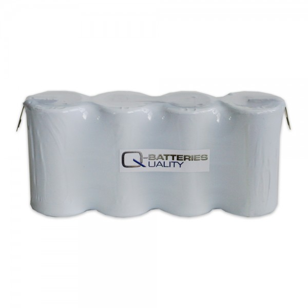 Akku Pack 4,8V 4000mAh für Notbeleuchtung Reihe NiCd F4x1 4xD Faston +6,3/-4,8mm