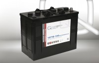 Q-Batteries 12TTB-130 12V 130Ah (C20) geschlossene Blockbatterie, positive Röhrchenplatte