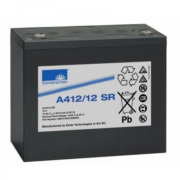 Exide Sonnenschein A412/12 SR 12V 12Ah dryfit Blei-Gel-Akku VRLA