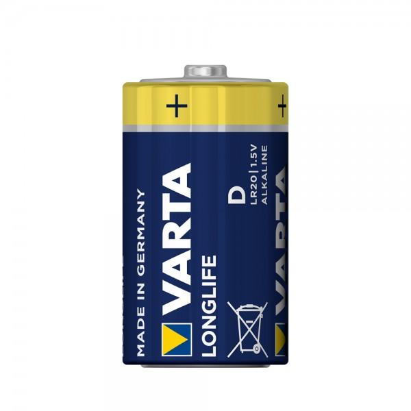 Varta Longlife Mono D Batterie 4120 LR20 (lose)