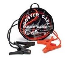 Starthilfekabel 35mm² Querschnitt 4500mm rote + schwarze Klemme Überbrückungskabel