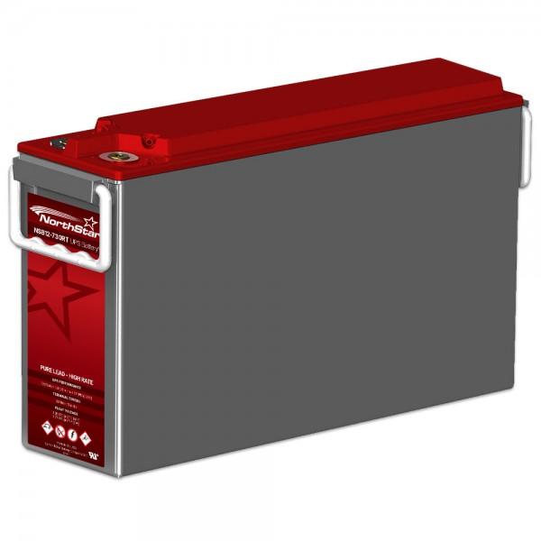 Northstar Red NSB 12-730RT - ACE 12V 728 Watt / Zelle (15 Min. 1,67V bei 25°C) AGM Batterie