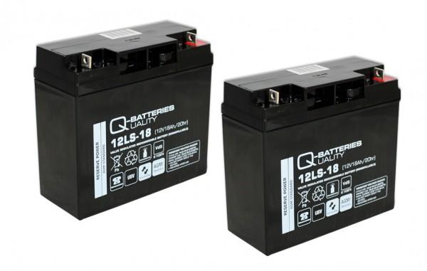 Ersatzakku für APC Smart-UPS SMT1500I RBC7 RBC 7 / Markenakku mit VdS