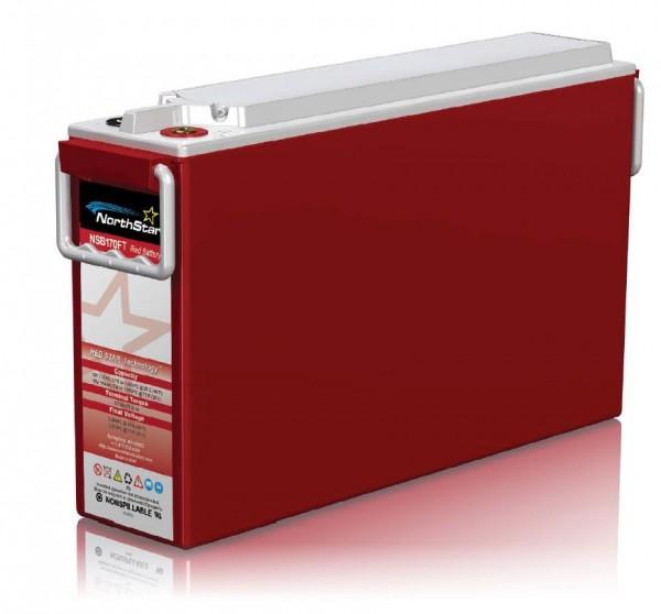 Northstar Red NSB 170FT- HT - High Temperature 12V 172Ah (10h) AGM Batterie