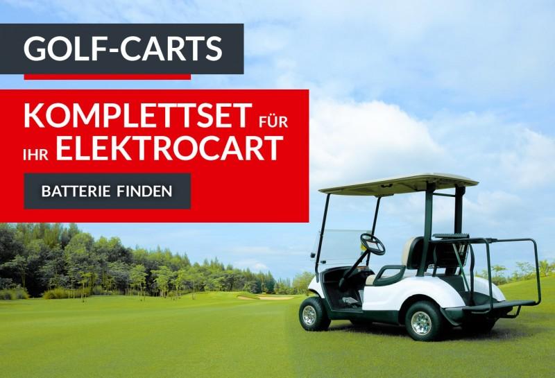Passende Batterien für Golfcart anzeigen