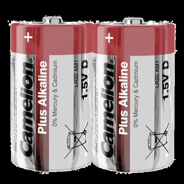 Camelion PLUS LR20 Mono D Alkaline Batterie (2er Folie)