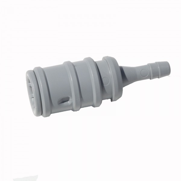 Aquamatik Wasserkupplung 6mm grau