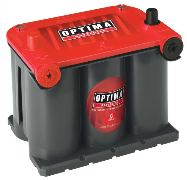 Optima Red Top RT U - 3.7, 12V 44Ah, AGM Starterbatterie, Spiralcell Technologie