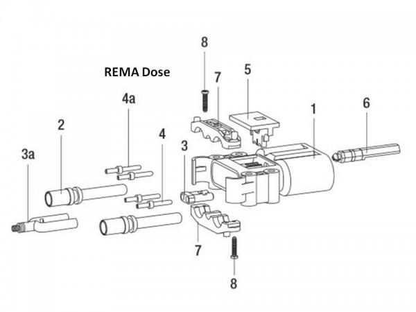 REMA EUW Luftadapter 80A Euro Din Dose für Elektrolytumwälzung