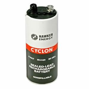 Hawker EnerSys Cyclon 0800-0004 2V 5Ah (10h) Blei Akku X-Zelle