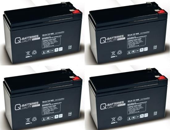 Ersatzakku für APC Back-UPS X SMX1500RMI2UP RBC115 RBC 115 / Markenakku mit VdS
