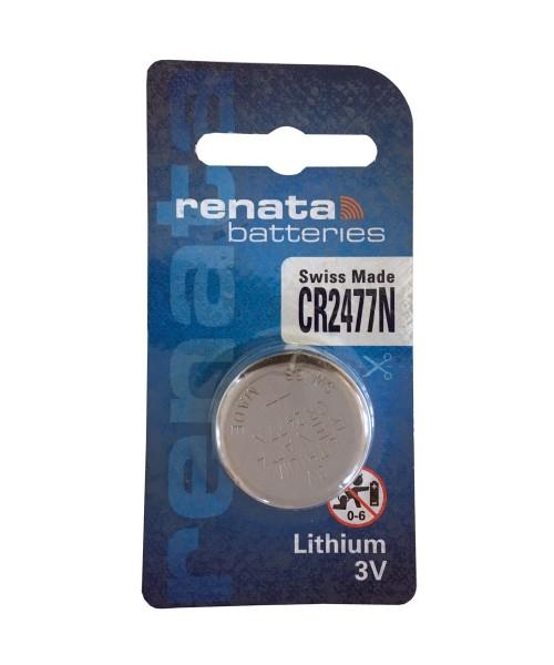 Renata CR2477N CR2477 Knopfzelle Lithium-Mangandioxid (1er Blister) UN3090 - SV188
