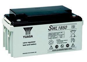 Yuasa SWL1850 66Ah (10h) mit 1850 Watt 12V Bleiakku SWL-Serie AGM Akku