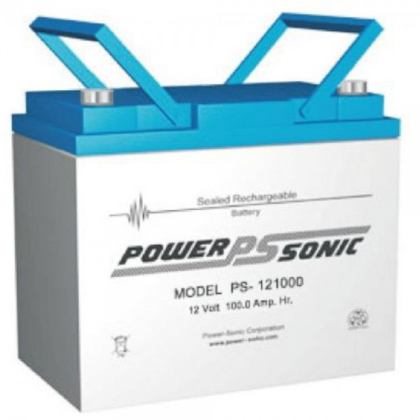 Powersonic 12V 100Ah Blei-Vlies Akku AGM VRLA PS 121000