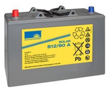 Exide Sonnenschein Solar S12/90 A Blei-Gel Batterie 12V 90Ah