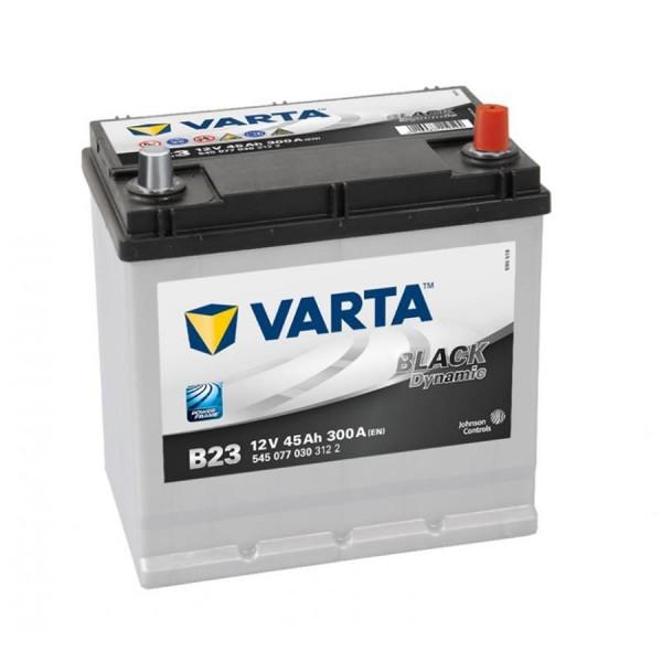 VARTA B23 Black Dynamic 12V 45Ah 300A Autobatterie 545 077 030