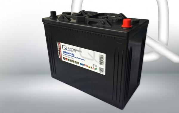 Q-Batteries 12SEM-135 12V 135Ah Semitraktionsbatterie