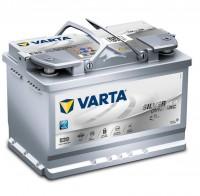 VARTA E39 Silver Dynamic AGM 12V 70Ah 760A Autobatterie Start-Stop 570 901 076