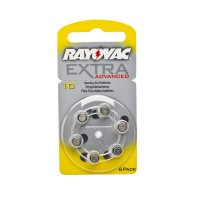Rayovac Extra Advanced 10 PR70 Hörgeräte Batterie (6er Blister)