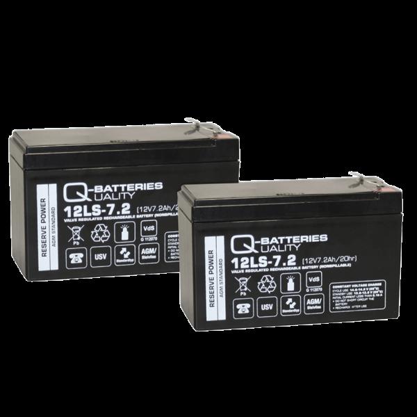 Ersatzakku für APC Smart-UPS 750/ Pro 900 RBC123/ Markenakku mit VdS
