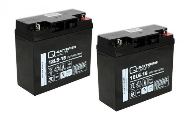 Ersatzakku für APC Back-UPS Pro BP1400I RBC7 RBC 7 / Markenakku mit VdS
