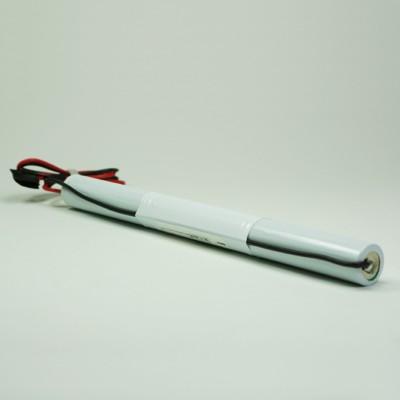 Akku Pack 3,6V 4000mAh Stab NiMH L3x1 3x4/3-A Hochtemperaturzellen Kabel