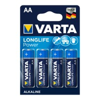 Varta Longlife Power Mignon AA Batterie 4906 LR06 (4er Blister)