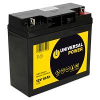 Universal Power AGM UPS12-18 12V 18Ah AGM Batterie USV Akku wartungsfrei