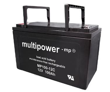 Multipower MP100-12C / 12V 100Ah Blei Akku AGM Zyklentyp