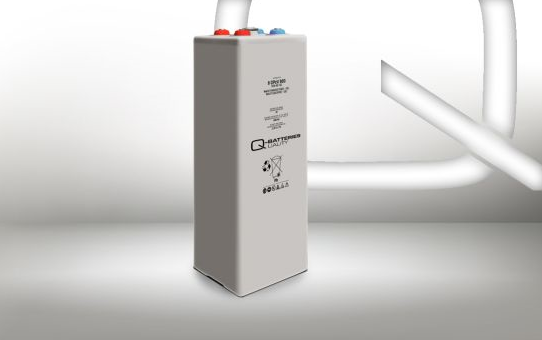 Q-Batteries 2 OPzV 100 12V 102 Ah (C10) verschlossene stationäre Gel-Batterie VRLA