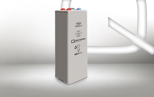 Q-Batteries 6 OPzV 300 6V 309 Ah (C10) verschlossene stationäre Gel-Batterie VRLA