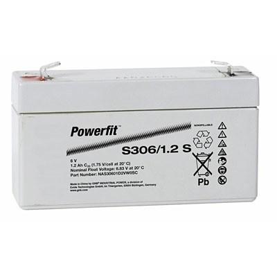 Exide Powerfit S306/1,2 S 6V 1,2Ah dryfit Blei-Akku AGM