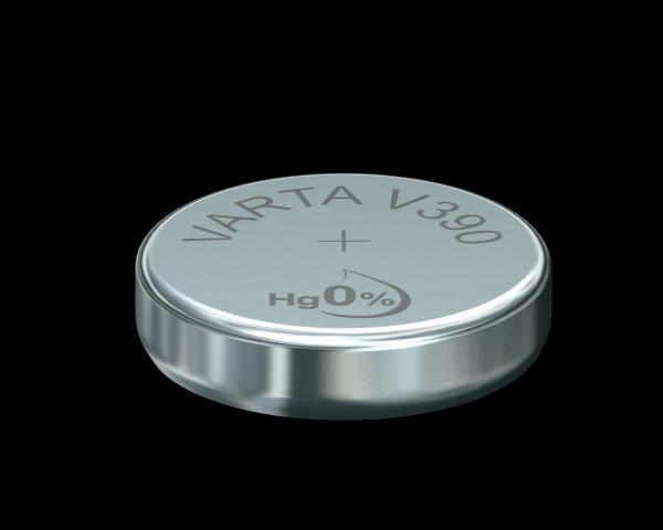 Varta Watch V390 SR54 1,55 V Uhrenbatterie 80mAh (1er Blister)